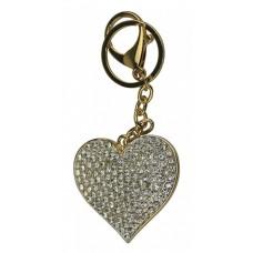 Keyring Bling Heart