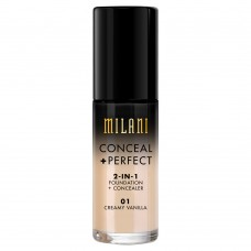 Conceal + Perfect 2-in-1 Foundation #01 Creamy Vanilla