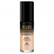 Conceal + Perfect 2-in-1 Foundation #02 Natural