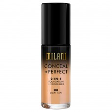 Conceal + Perfect 2-in-1 Foundation #08 Light Tan