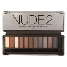 Nude 2 Eyeshadow Tin 12 Piece Palette