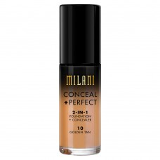 Conceal + Perfect 2-in-1 Foundation #10 Golden Tan