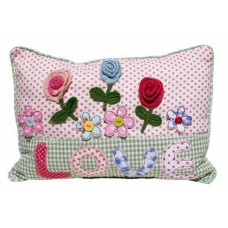 Decorative Love Floral Cushion